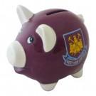 West Ham United F.C. Piggy Bank Claret