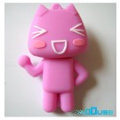 16GB Novelty Cartoon Pink Funny Cat USB Flash Key Pen Drive Memory Stick Gift UK [PC]