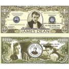 Novelty Dollar James Dean Rebel Without A Cause Dollar Bills X 4 New