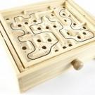 Wooden Labyrinth Puzzle Maze