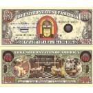 Novelty Dollar 1950's Retro American Diner Jukebox Dollar Bills X 4
