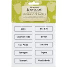 Kitchen Craft Vinyl Spice Labels, Pack of 50