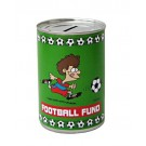 Football Fund Cash Can Savings Tin - Small