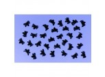 """Mini Spiders, pack of 50 - Great for Halloween Parties, Animal Insect theme..."""