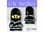 16GB Novelty Cartoon Cool Ninja USB Flash Key Pen Drive Memory Stick Gift UK [PC]